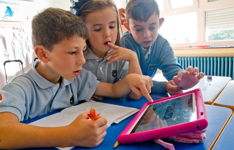 Tablets in 1º to 3º of Ed. Primaria